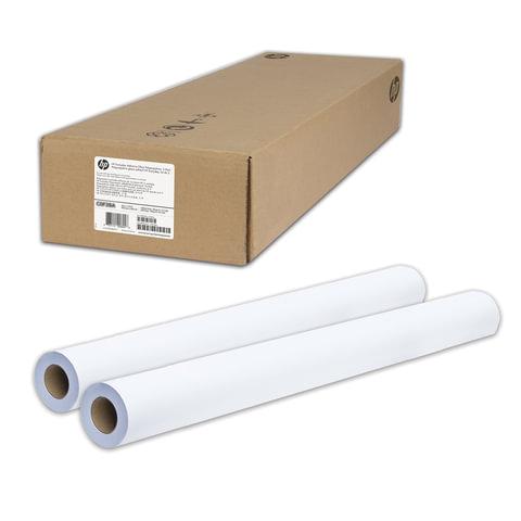 Рулоны для плоттера (пленка самоклеящаяся), 1067 мм х 22 м х втулка 50,8 мм, 120 г/м<sup>2</sup>, глянцевые, комплект 2 шт., HP C0F29A