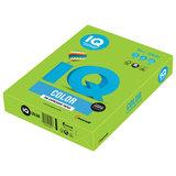 Бумага цветная IQ color, А4, 80 г/м<sup>2</sup>, 500 л., интенсив, ярко-зеленая, MA42