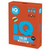 Бумага цветная IQ color, А4, 80 г/м<sup>2</sup>, 500 л., интенсив, красный кирпич, ZR09