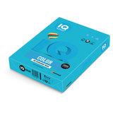 Бумага цветная IQ color, А4, 80 г/м<sup>2</sup>, 500 л., интенсив, светло-синяя, AB48