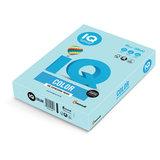 Бумага цветная IQ color, А4, 80 г/м<sup>2</sup>, 500 л., пастель, голубая, MB30