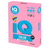 Бумага цветная IQ color, А4, 80 г/м<sup>2</sup>, 500 л., пастель, розовая, PI25