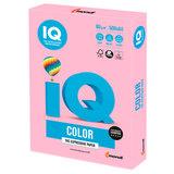 Бумага цветная IQ color, А4, 80 г/м<sup>2</sup>, 500 л., пастель, розовый фламинго, OPI74
