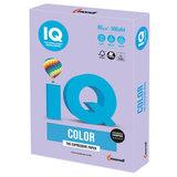 Бумага цветная IQ color А4, 80 г/м<sup>2</sup>, 500 л., тренд, бледно-лиловая, LA12