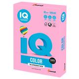 Бумага IQ color БОЛЬШОЙ ФОРМАТ (297х420 мм), А3, 80 г/м, 500 л., неон, розовая, NEOPI