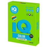 Бумага IQ color БОЛЬШОЙ ФОРМАТ (297х420 мм), А3, 80 г/м, 500 л., интенсив, ярко-зеленая, MA42