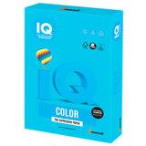 Бумага цветная IQ color, А4, 160 г/м<sup>2</sup>, 250 л., интенсив светло-синяя, AB48