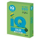 Бумага цветная IQ color, А4, 80 г/м<sup>2</sup>, 500 л., интенсив, зеленая липа, LG46