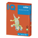 Бумага IQ color БОЛЬШОЙ ФОРМАТ (297х420 мм), А3, 80 г/м<sup>2</sup>, 500 л., интенсив, красный кирпич, ZR09