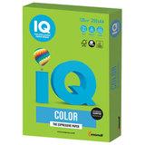 Бумага IQ color, А4, 120 г/м<sup>2</sup>, 250 л., интенсив, ярко-зеленая, MA42