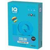 Бумага IQ color, А4, 120 г/м<sup>2</sup>, 250 л., интенсив, светло-синяя, AB48
