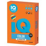 Бумага IQ color, А4, 120 г/м<sup>2</sup>, 250 л., интенсив, оранжевая, OR43