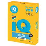 Бумага IQ color, А4, 120 г/м<sup>2</sup>, 250 л., интенсив, солнечно-желтая, SY40