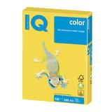 Бумага IQ (АйКью) color, А3, 120 г/м<sup>2</sup>, 250 л., интенсив канареечно-желтая, CY39