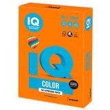 Бумага цветная IQ color, А4, 160 г/м<sup>2</sup>, 250 л., интенсив, оранжевая, OR43