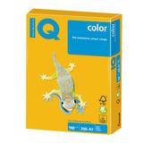 Бумага IQ color БОЛЬШОЙ ФОРМАТ (297х420 мм), А3, 160 г/м<sup>2</sup>, 250 л., интенсив, солнечно-желтая, SY40