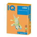 Бумага IQ color БОЛЬШОЙ ФОРМАТ (297х420 мм), А3, 80 г/м, 500 л., неон, оранжевая, NEOOR