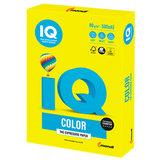 Бумага IQ color БОЛЬШОЙ ФОРМАТ (297х420 мм), А3, 80 г/м<sup>2</sup>, 500 л., неон, желтая, NEOGB