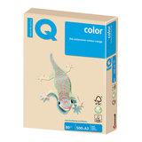 Бумага IQ color БОЛЬШОЙ ФОРМАТ (297х420 мм), А3, 80 г/м<sup>2</sup>, 500 л., пастель, темно-кремовая, SA24