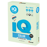 Бумага IQ color БОЛЬШОЙ ФОРМАТ (297х420 мм), А3, 80 г/м<sup>2</sup>, 500 л., пастель, светло-зеленая, GN27