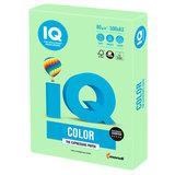 Бумага IQ color БОЛЬШОЙ ФОРМАТ (297х420 мм), А3, 80 г/м<sup>2</sup>, 500 л., пастель, зеленая, MG28