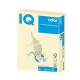 Бумага IQ color БОЛЬШОЙ ФОРМАТ (297х420 мм), А3, 80 г/м<sup>2</sup>, 500 л., пастель, ванильная, BE66