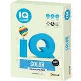 Бумага цветная IQ color, А4, 160 г/м<sup>2</sup>, 250 л., пастель, светло-зеленая, GN27