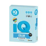Бумага цветная IQ color, А4, 160 г/м<sup>2</sup>, 250 л., пастель, голубая, MB30