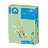 Бумага цветная IQ color БОЛЬШОЙ ФОРМАТ (297х420 мм), А3, 160 г/м<sup>2</sup>, 250 л., пастель, зеленая, MG28