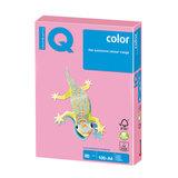 Бумага IQ (АйКью) color, А4, 80 г/м<sup>2</sup>, 100 л., пастель розовый фламинго, OPI74