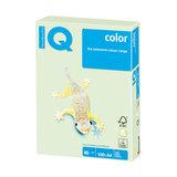Бумага IQ (АйКью) color, А4, 80 г/м<sup>2</sup>, 100 л., пастель светло-зеленая, GN27