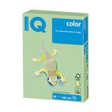 Бумага IQ (АйКью) color, А4, 80 г/м<sup>2</sup>, 100 л., пастель зеленая, MG28