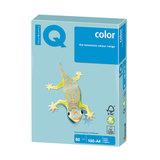 Бумага IQ (АйКью) color, А4, 80 г/м<sup>2</sup>, 100 л., пастель голубая, MB30