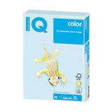 Бумага IQ (АйКью) color, А4, 80 г/м<sup>2</sup>, 100 л., пастель светло-голубая, BL29