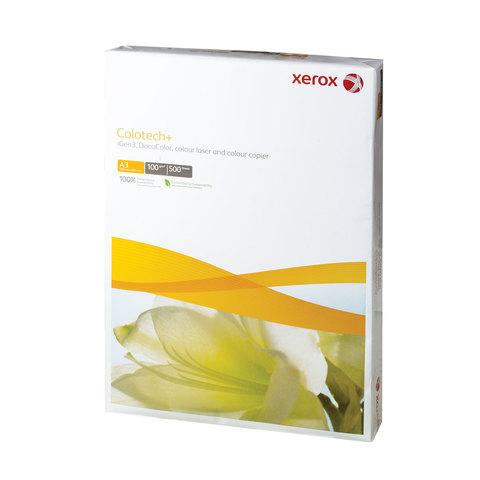 Бумага XEROX COLOTECH PLUS, А3, 100 г/м<sup>2</sup>, 500 л., для полноцветной лазерной печати, А++, Австрия, 170% (CIE), 003R98844