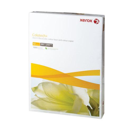 Бумага XEROX COLOTECH PLUS, А3, 280 г/м<sup>2</sup>, 250 л., для полноцветной лазерной печати, А++, Австрия, 170% (CIE), 003R98980