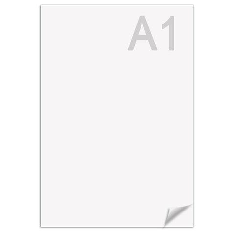 Ватман А1 (610 х 860 мм), 1 лист, плотность 180 г/м2, ГОЗНАК С-Пб, упаковка по 300 листов, водяной знак
