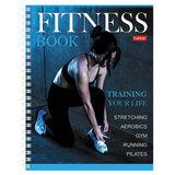 """Дневник для фитнеса, А5, 96 листов, гребень, глянцевая ламинация, HATBER, """"Training your life"""", 96ФДс5лВ5гр"""