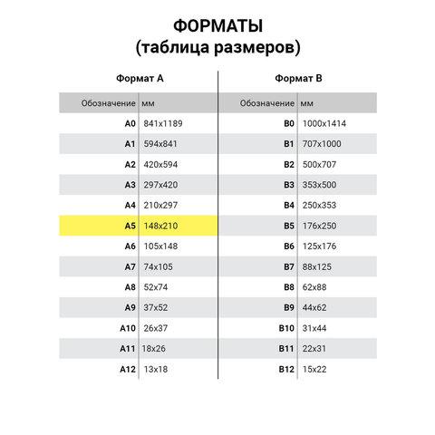 Блокнот А5, 60 л., гребень, перфорация на отрыв, лакированный, BRAUBERG, Бордовый, 145х212 мм, 111271