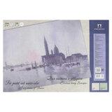 """Папка для пастели и акварели/планшет А4, 20 листов, 2 цвета, 200 г/м<sup>2</sup>, тонированная бумага, """"Венеция"""", ПЛ-6433"""