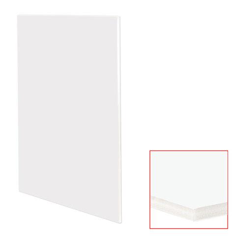 Пенокартон матовый, 70х100 см, толщина 10 мм, белый, КОМПЛЕКТ 5 листов, BRAUBERG, 112476