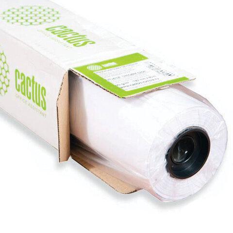 Рулон для плоттера, 610 мм х 45,7 м х втулка 50,8 мм, 80 г/м2, белизна CIE 171%, CACTUS (CS-LFP80-610457)