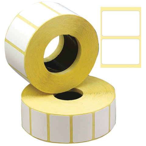 Этикетка ТермоЭко, для термопринтера и весов, 30х20x2000 шт. (ролик), светостойкость до 2 месяцев, 122067
