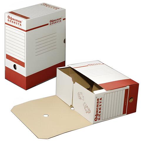 Накопитель документов, лоток-коробка ОФИСНАЯ ПЛАНЕТА, 150 мм, до 1400 л., 122746