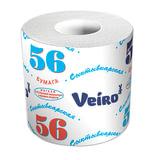 """Бумага туалетная бытовая, 39 м, VEIRO (Вейро) """"Сыктывкарский стандарт"""", на втулке, 4с10"""
