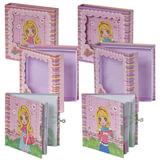 """Блокнот 7БЦ, А6, 60 л., металлический замок, блестки, подарочная упаковка, BRAUBERG """"Стильная девчонка"""", 145х155 мм, 123557"""