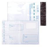 """Конверты-пакеты С5 полиэтиленовые (162х229 мм), до 150 листов, """"Куда-Кому"""", отрывная полоса, КОМПЛЕКТ 10 шт., 11002.10"""