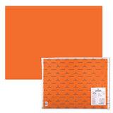 Бумага (картон) CANSON &quot;Iris Vivaldi&quot;, А2+, 500х650 мм, 240 г/м<sup>2</sup>, 2-сторонняя, светло-оранжевая, 08