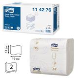 Бумага туалетная TORK (Система Т3), комплект 30 шт., Premium E Soft, листовая, 252 л., 11х19 см, 2-слойная, 114276