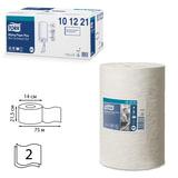Полотенца бумажные с центральной вытяжкой мини TORK (Система M1), комплект 11шт., Advanced, 75 м, 2-слойные, белые, 101221